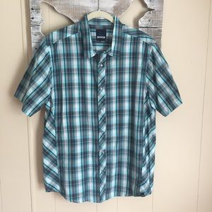 Prana | Snap Closure Short Sleeve Shirt Large